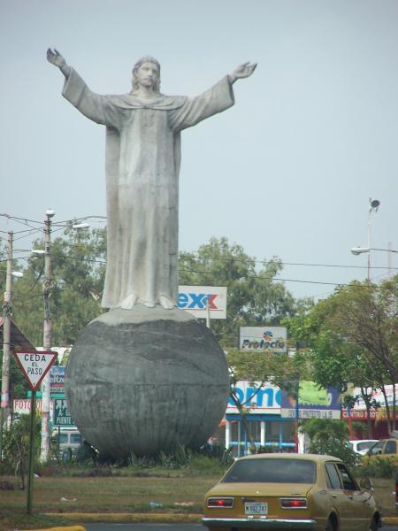 Никарагуа YN2SB Туристические достопримечательности