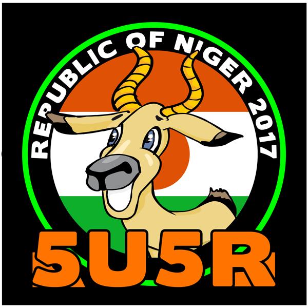 Нигер 5U5R DX Экспедиция Логотип.