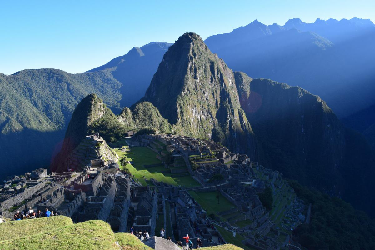 OA4/PA3GFE Machu Picchu, Peru. Tourist attractions spot