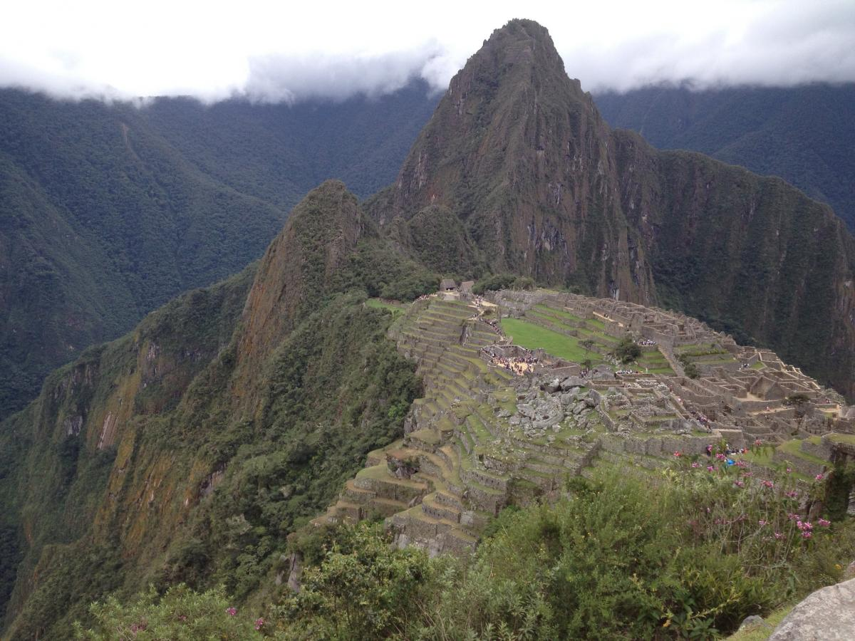OA4/WJ2O Machu Pichu, Peru. Tourist attractions spot