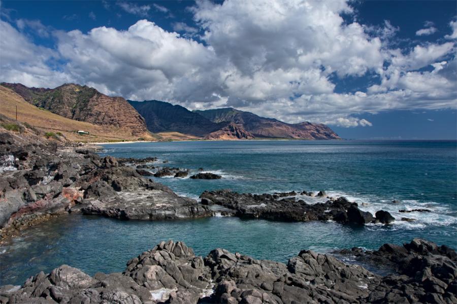 Oahu Island KH7Q Yokohama Bay