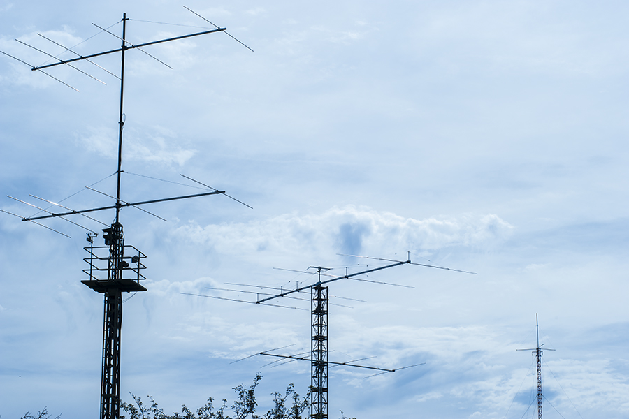 OK5Z Contest Station Stack 5 over 5 10m