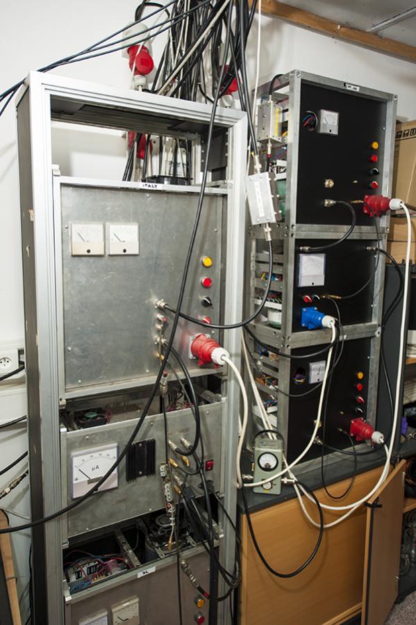 OL3Z Contest Station Power Amplifiers with power supplies Miroslav OK1VUM design
