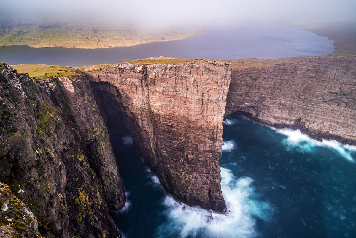 Faroe Island OY/CT1BWW Tourist attractions spot Lake Sørvágsvatn