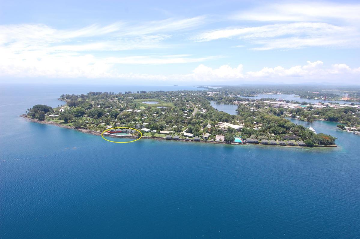 P29XC Маданг Ресорт отель, Маданг, Папуа Новая Гвинея.