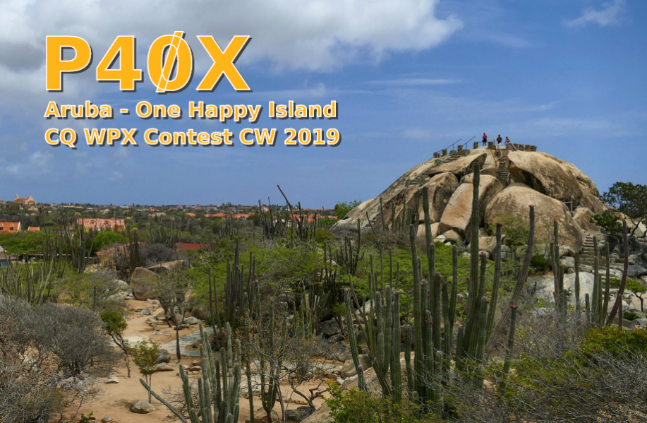 Aruba P40X QSL CQ WW WPX CW Contest 2019