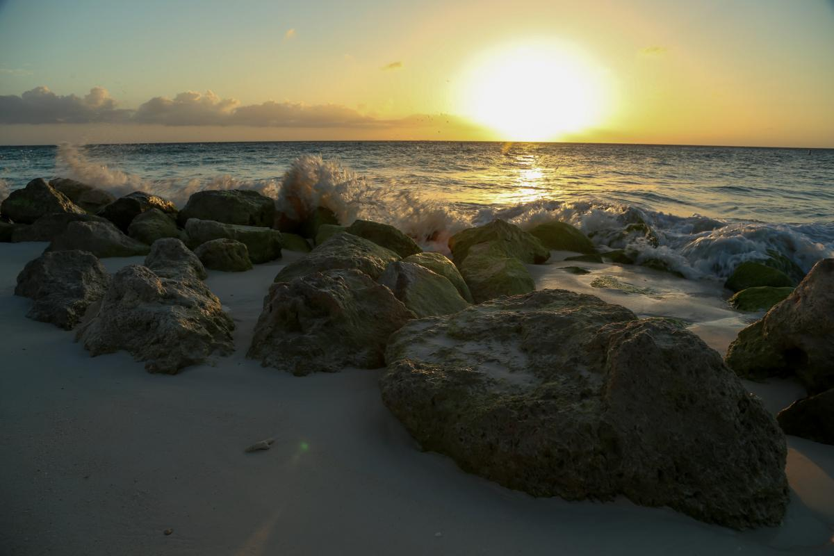 P4/N1DC Aruba Island. Tourist attractions spot