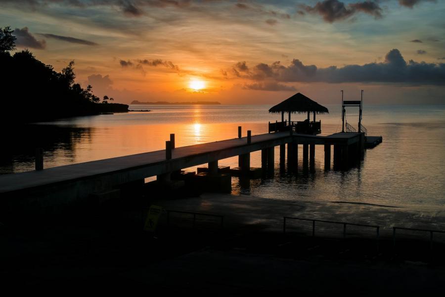 Палау T88DT Меюнгс, остров Корор.