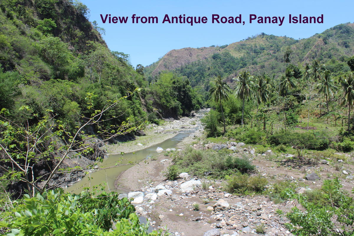 Panay Island DU6GG Tourist attractions spot Visayan Islands Antique Road