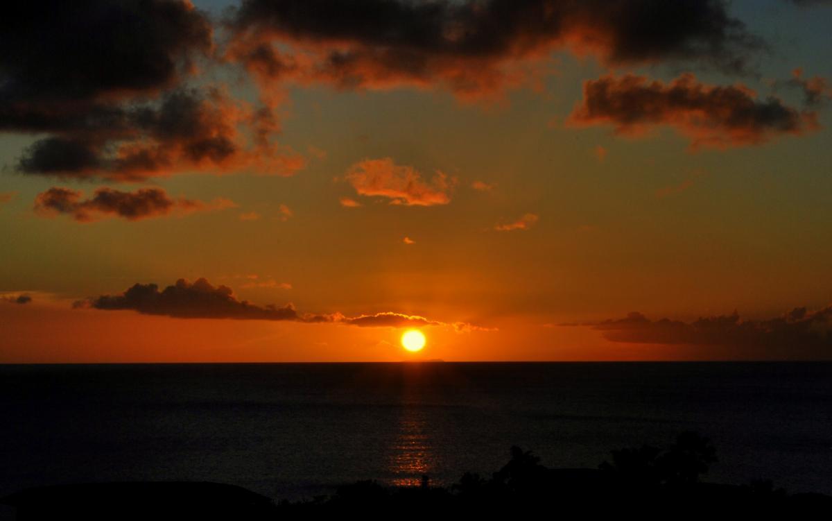 PJ4/PH2L Bonaire Island Sunset