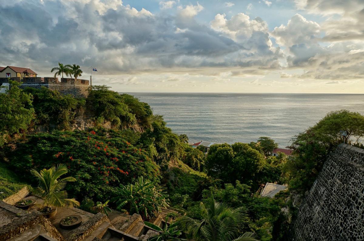 PJ5/AI5P Sint Eustatius Island Tourist attractions spot