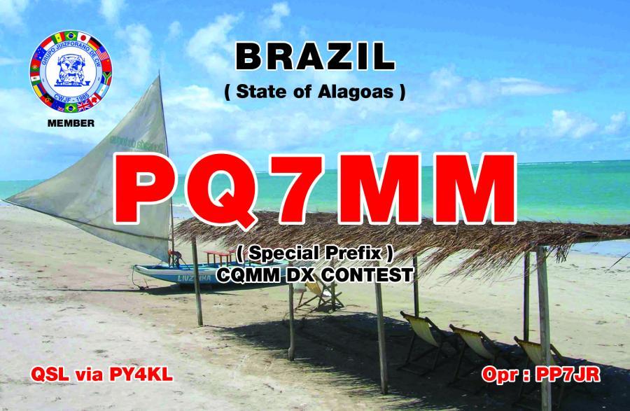 Brazil PQ7MM QSL