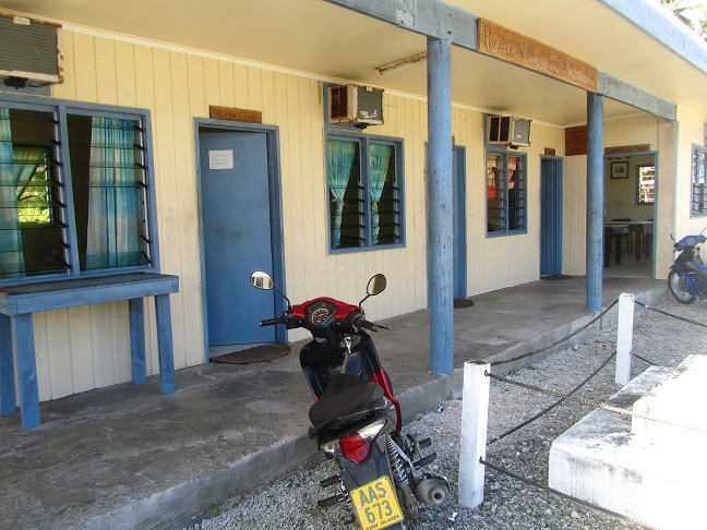 Island administration offices.