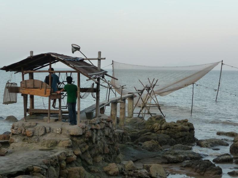 Остров Ки'эо B7/BD7IHN Рыбалка