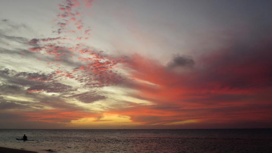 Raivavae Island TX5T Sunset, Anatonu