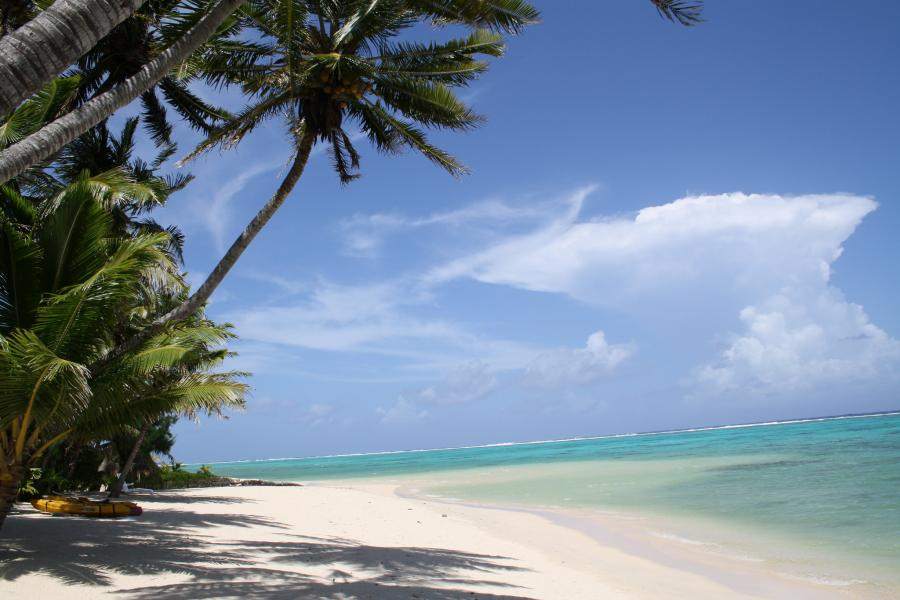 Rarotonga Island E51ADD DX News Beach