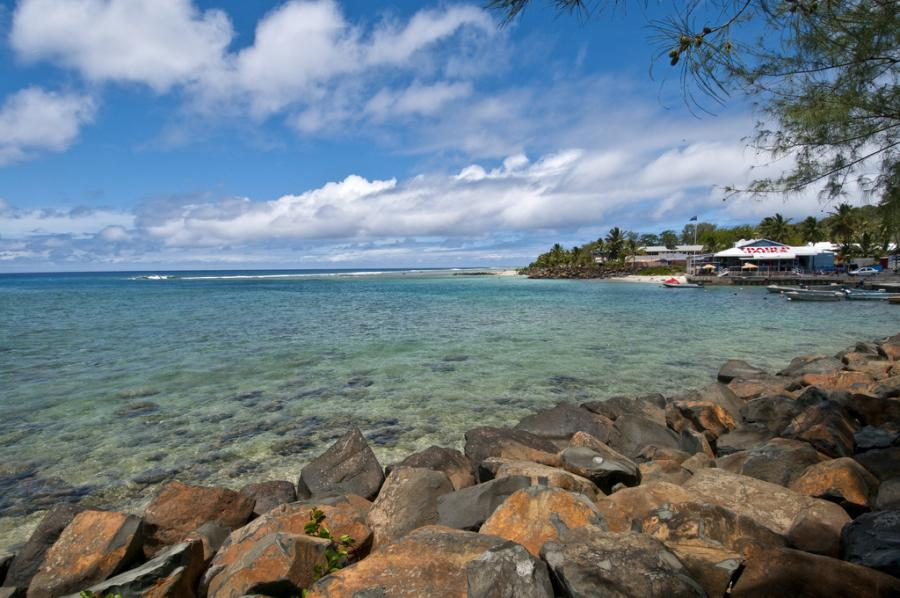Rarotonga Island E51BAS Tourist attractions spot The harbor
