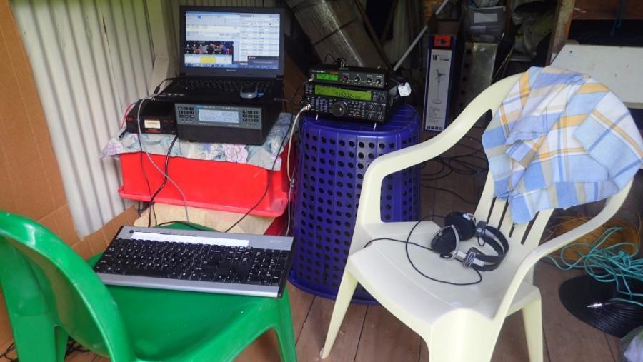 Rarotonga Island E51DWC Chair Radios