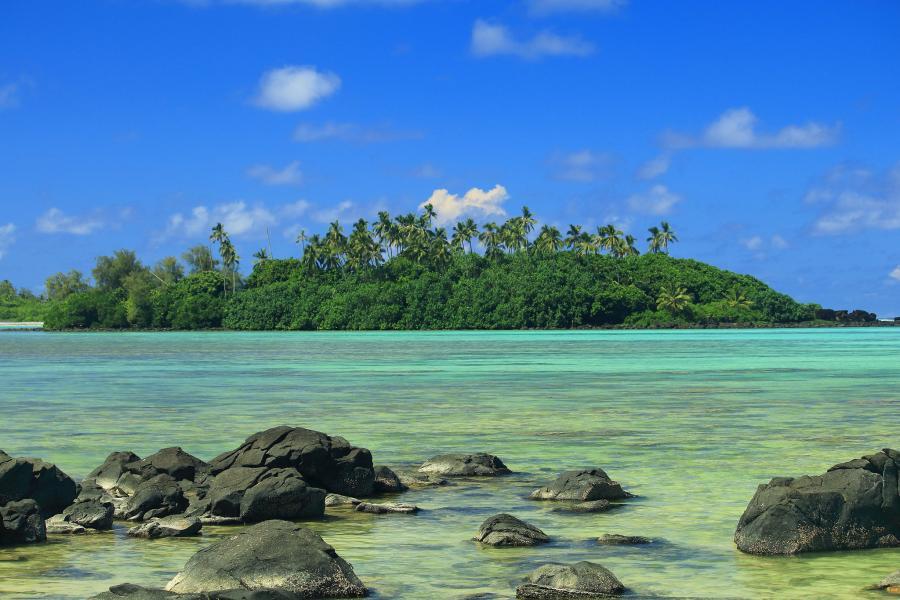 Rarotonga Island E51XYL Muri Beach