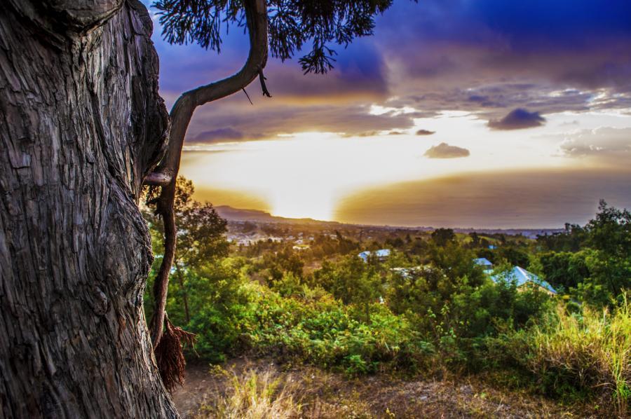 Reunion Island FR/DJ7RJ DX News Sunset