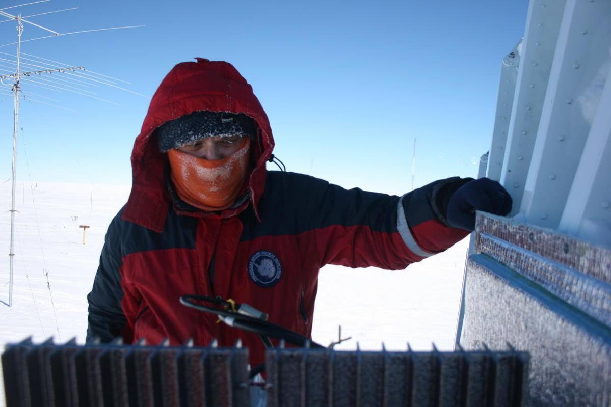 RI1ANM Станция Восток Антарктида Фото
