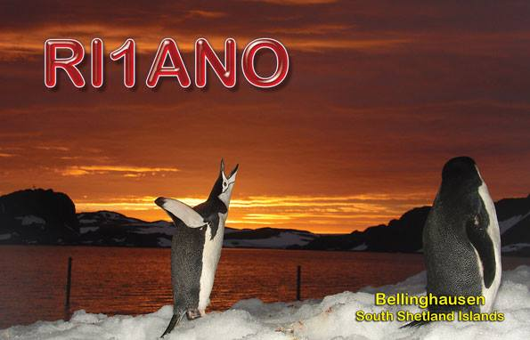 RI1ANO King George Island Bellinghausen South Shetland Islands Picture/QSL