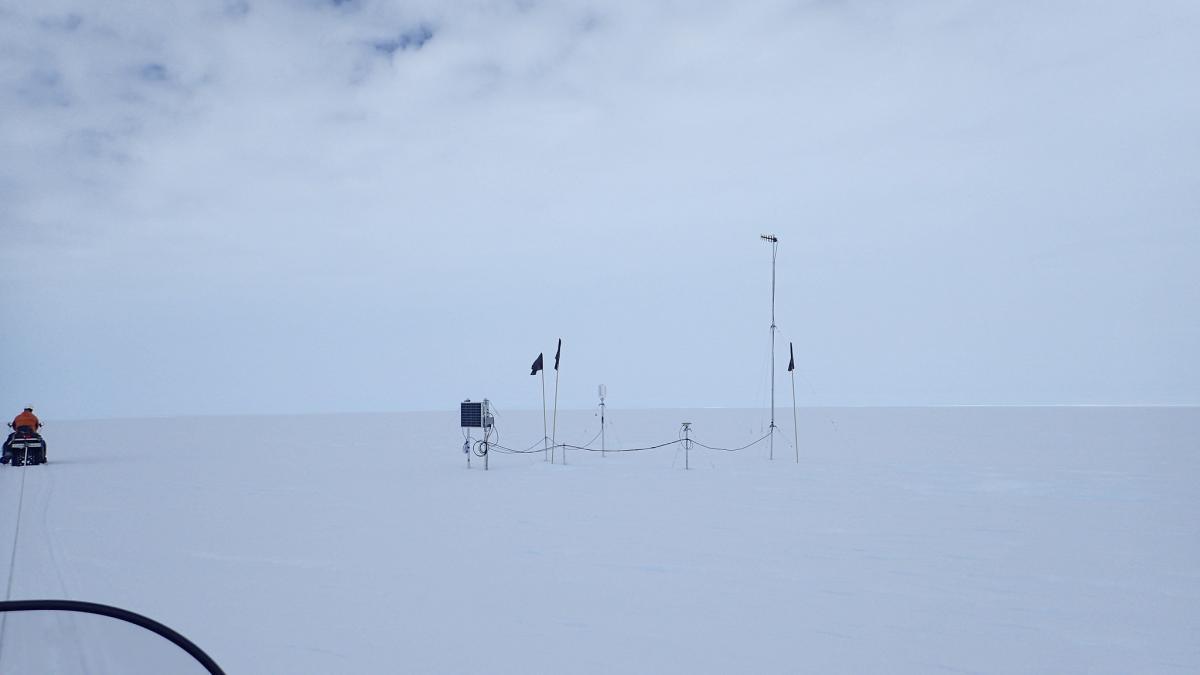 RI1ANV Antarctica Tourist attractions spot