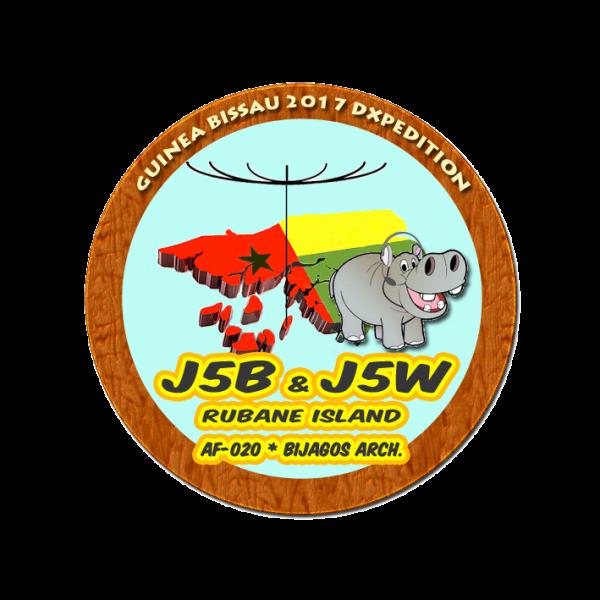Rubane Island Bijagos Archipelago J5B J5W Logo