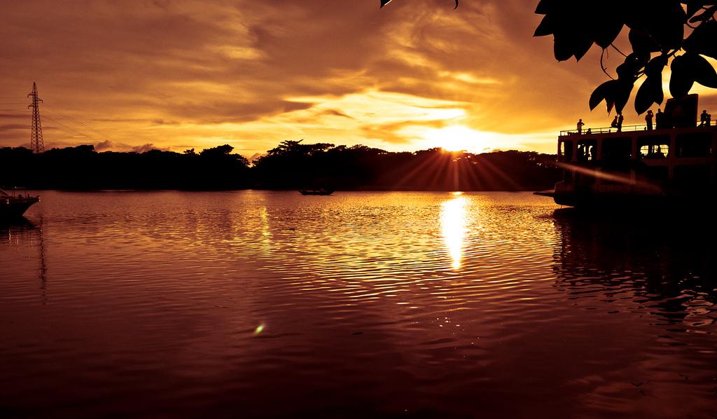 S21ZDC Остров Бхола Закат