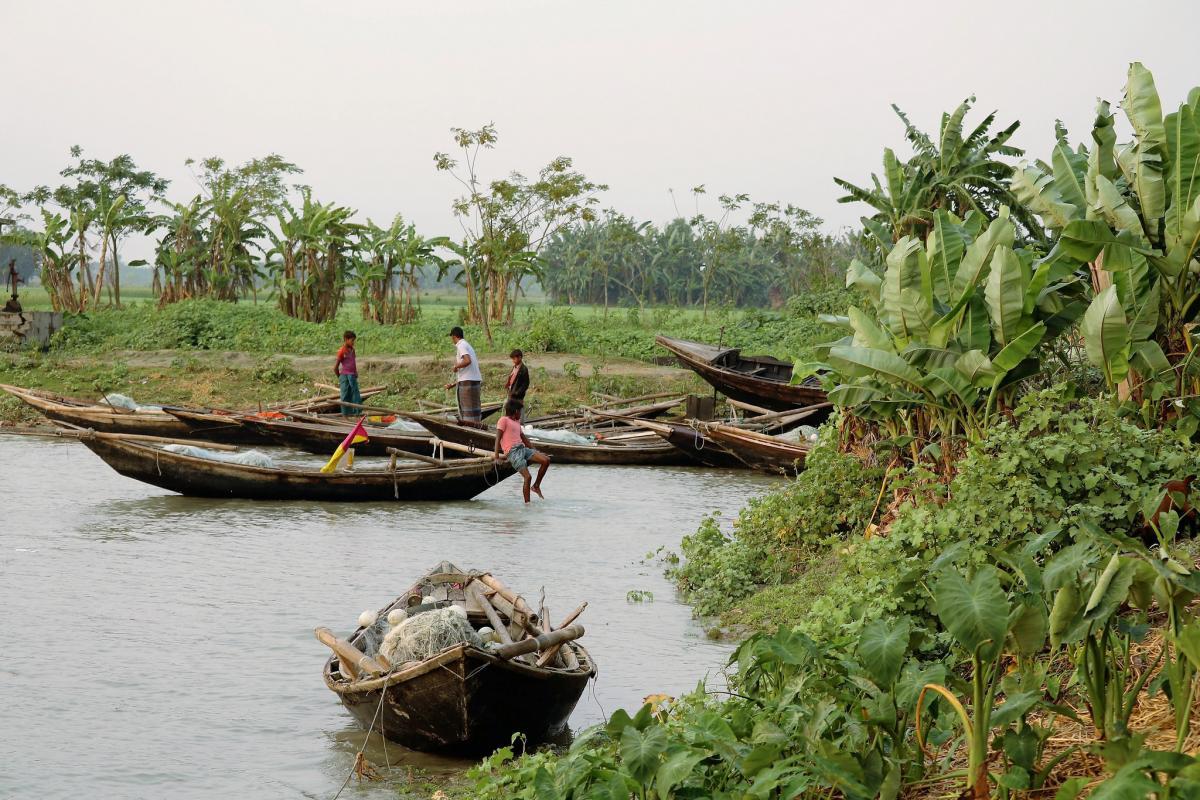 S21ZDC Bhola Island Fishing boat