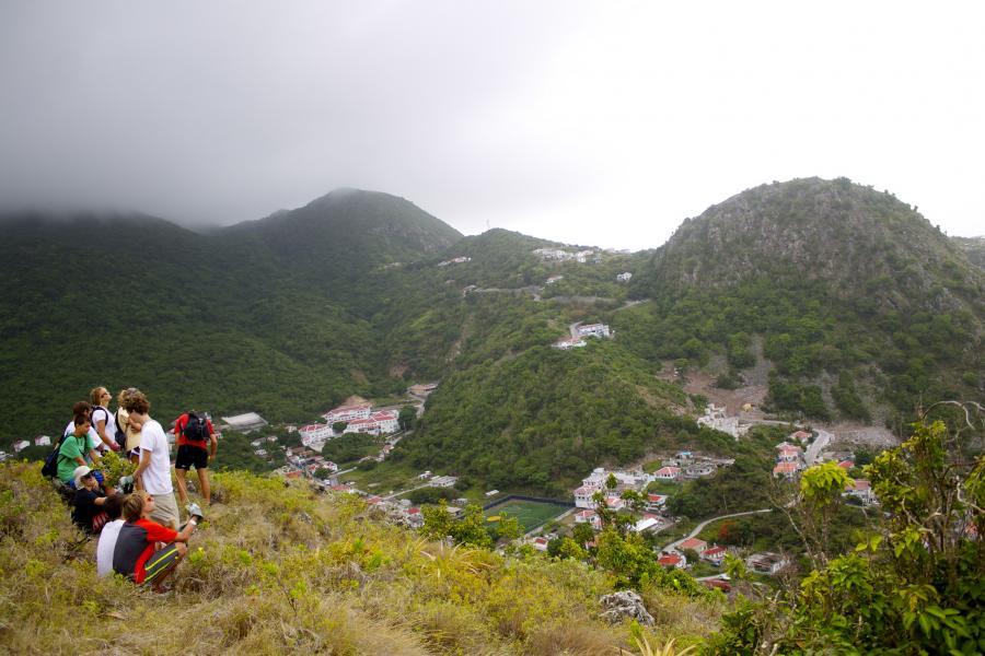 Saba Island PJ6/PH2M Tourist attractions spot