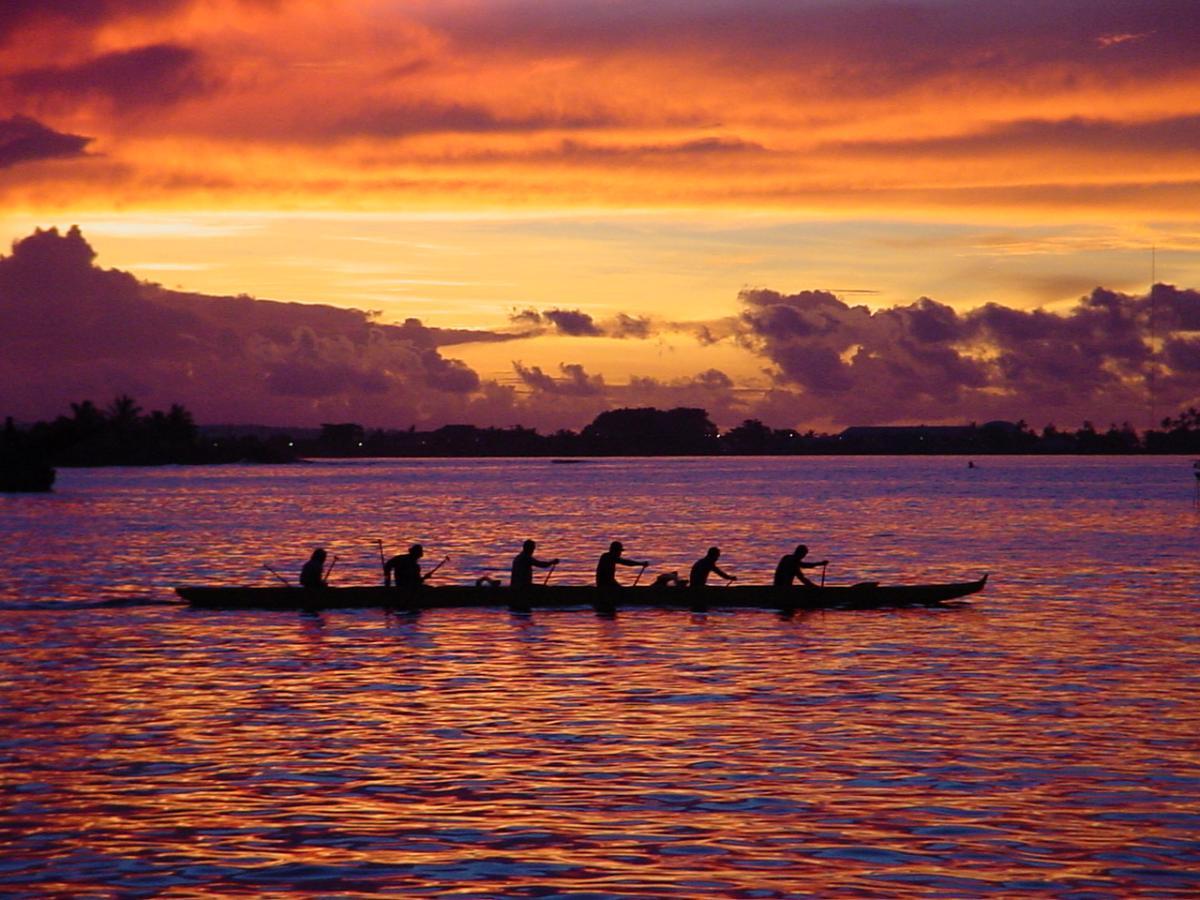Samoa 5W0RA DX News Sunset Apia