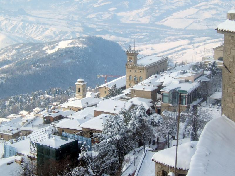 San Marino T7/DF8AN/P Tourist attractions spot