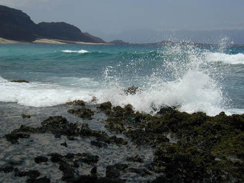 Остров Сан Висенти Кабо Верде Атлантический океан