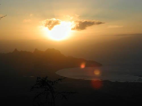 Остров Сан Висенти Кабо Верде