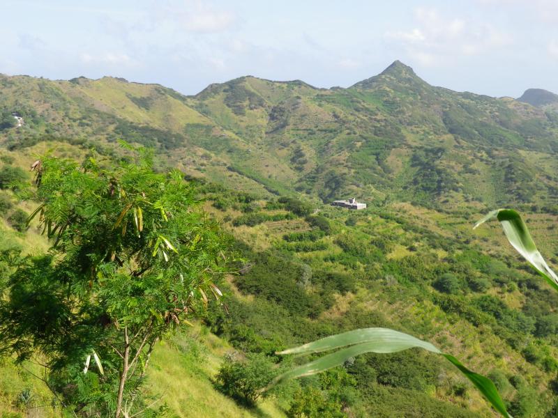 Santiago Island D44TU Tourist attractions spot Cape Verde Cabo Verde
