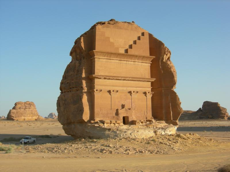 Saudi Arabia 7Z1ES Tourist attractions spot Madain Saleh