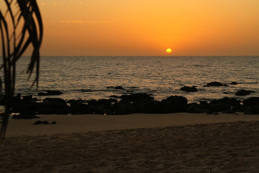 Senegal 6W2SC 6W2SC/P Tourist attractions spot Sunset