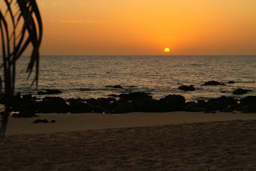 Senegal 6W2SC 6W2SC/P Tourist attractions spot Sunset