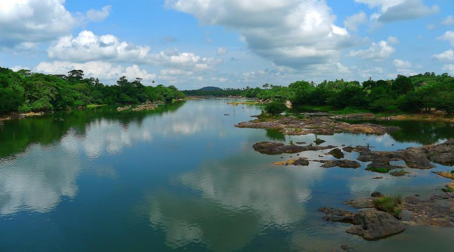 Sierra Leone 9L1BXU Tourist attractions spot Sewa River
