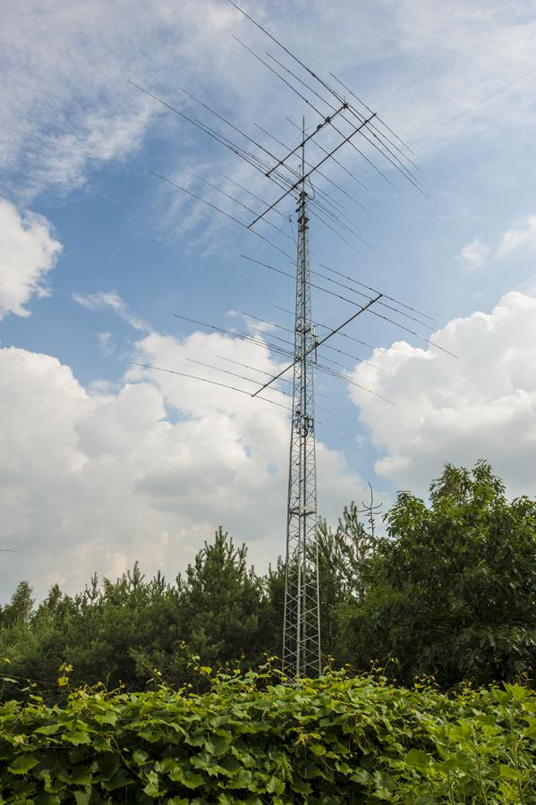 SN0HQ Main Antenna tower SP2XF
