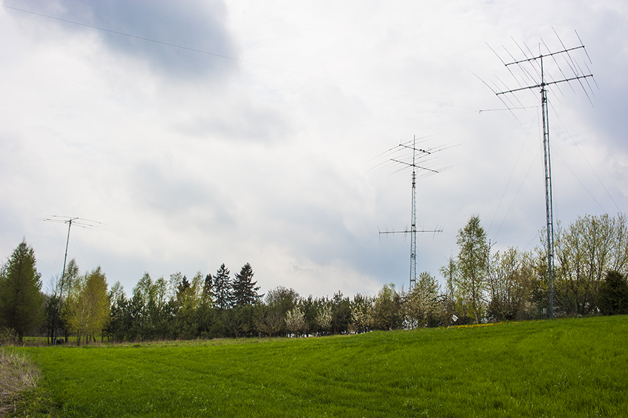 SN2M SP2XF Contest Station Poland Amateur Radio Antennas