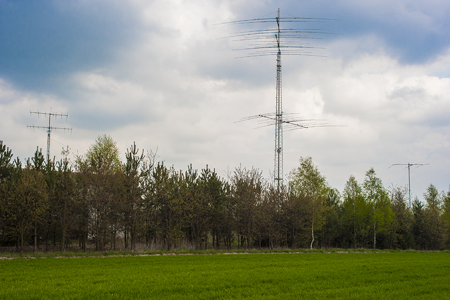 SN2M SP2XF Antenna Farm