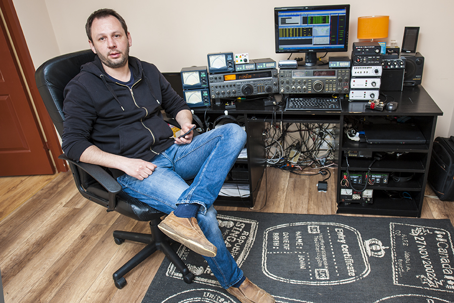 Maciek SP2XF SN2M Amateur Radio