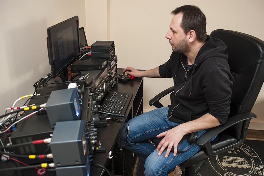 SN2M SP2XF Amateur Radio Contest Station Setup