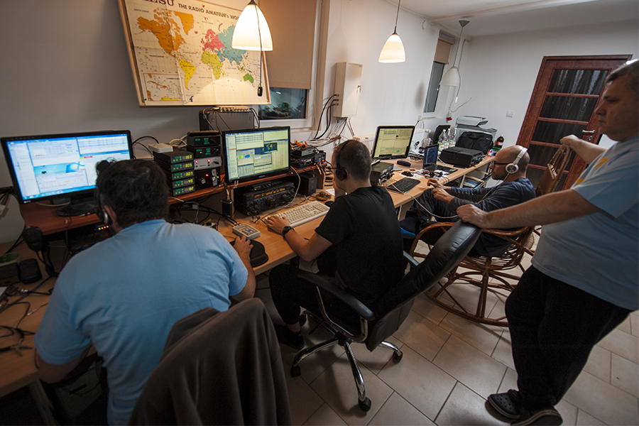 SO4M Poland CQ WW DX CW Contest 2017 F5SDD SQ6MS SP5UAF SP5OXJ