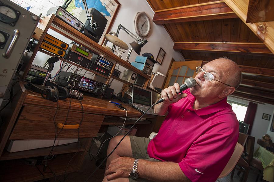 SP7EWX Radio Room Shack