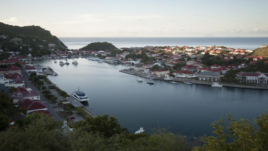 Saint Barthelemy Island FJ/AI5P FJ/N0KV Tourist attractions spot Sunrise, Gustavia