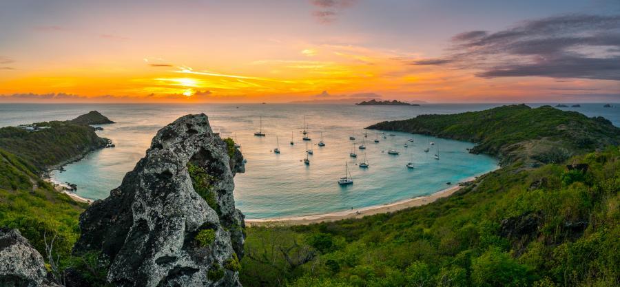 Saint Barthelemy FJ/AI5P FJ/N0KV Sunset