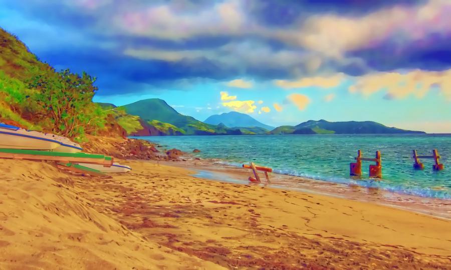 Остров Сент Китс V4/W1CDC